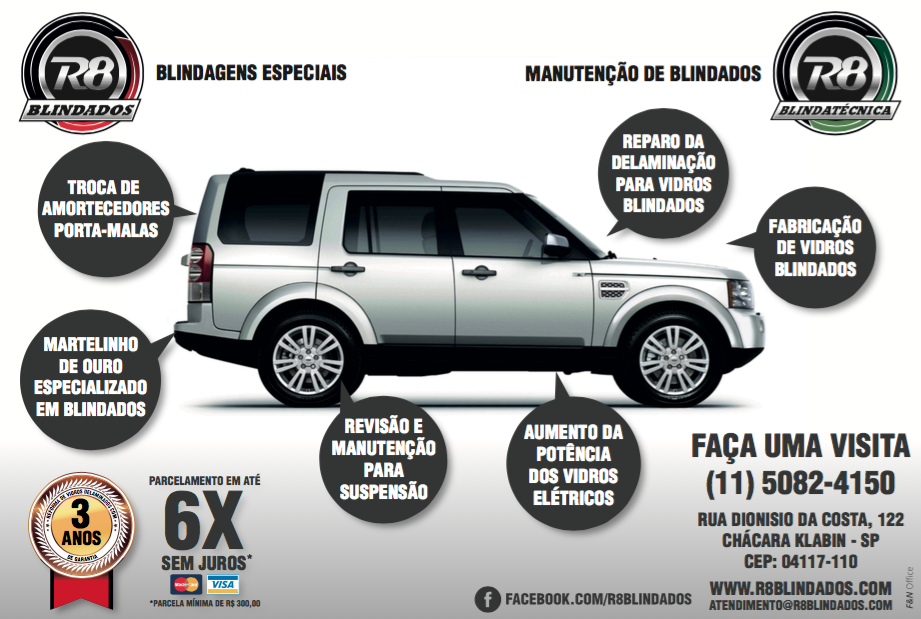 R8 Blindados - Revista